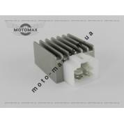 Регулятор напряжения  Honda Dio/Tact/GY6-50/60/80/125сс квадр.фишка