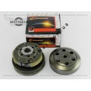 Вариатор задний (сцепление) Honda Dio/ZX 34/35/Lead/4т GY6-50/80сс 139QMB (в сборе с чашкой)