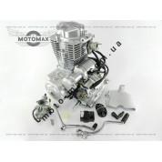 Двигатель CG-150cc ZUBR/ MUSTANG (+карбюратор+коммутатор+ катушка)