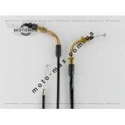 Трос газа Honda Dio/Tact L-1877/2010мм TVR
